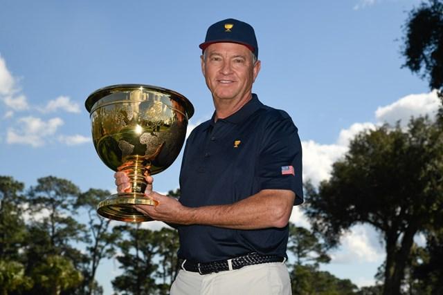2021年 デービス・ラブIII 2022年の「プレジデンツカップ」で米国選抜を率いるデービス・ラブIII(提供:PGAツアー)