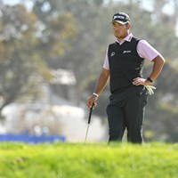 松山英樹はプレーに精彩を欠いた(Ben Jared/PGA TOUR via Getty Images) 2021年 ファーマーズインシュランスオープン 初日 松山英樹