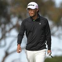 小平智は1アンダーで初日を終えた(Ben Jared/PGA TOUR via Getty Images) 2021年 ファーマーズインシュランスオープン 初日 小平智