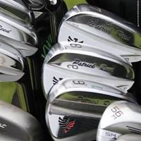 リードはグラインドワークスのプロトタイプアイアンを使う(GolfWRX、PGATOUR.com) パトリック・リードのバッグの中身