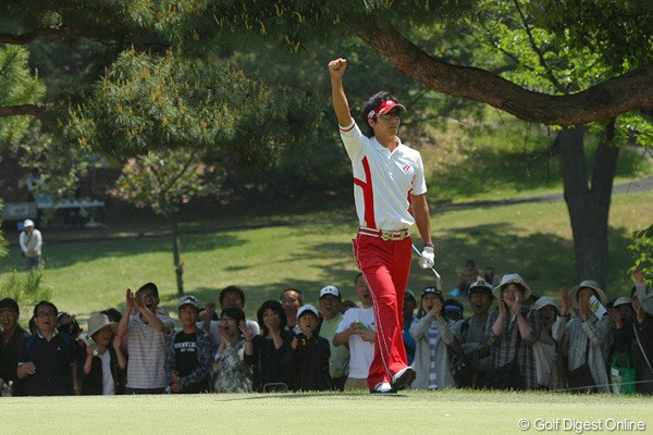 「夢の中でプレーしているようだった」遼、世界最小ストロークを更新する「58」で逆転V!