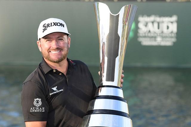 2020年 サウジインターナショナル 最終日 グレーム・マクドウェル 前年大会はグレーム・マクドウェルが通算12アンダーで6年ぶりの優勝を飾った(Ross Kinnaird/Getty Images)