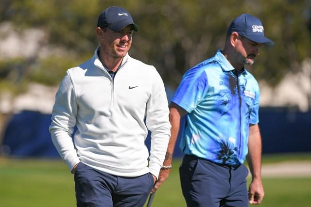 2021年 ファーマーズインシュランスオープン  3日目 ロリー・マキロイ ファーマーズインシュランスオープン3日目のマキロイ(Ben Jared/PGA TOUR via Getty Images)