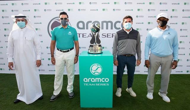 アラムコ・チームシリーズ サウジアラビア主導による欧州女子ツアー新規4大会の開催が発表された(提供:Aramco)