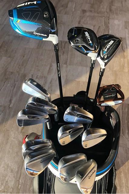 2021年 ロリー・マキロイのバッグ マキロイのクラブセッティング(提供:GolfWRX)