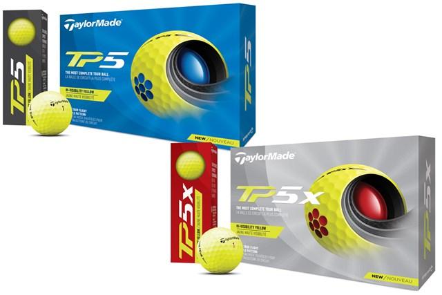 10年ぶりの新設計ディンプル テーラーメイド「TP5」「TP5x」が4月発売 イエローカバー「TP5 YELLOW」「TP5x YELLOW」