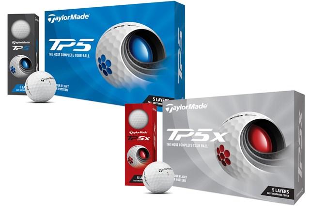 10年ぶりの新設計ディンプル テーラーメイド「TP5」「TP5x」が4月発売 マキロイ、ファウラーらが使用する先進のツアーボール「TP5/TP5x」