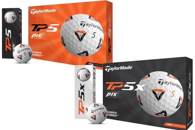 10年ぶりの新設計ディンプル テーラーメイド「TP5」「TP5x」が4月発売 マルチカラーハイコントラスト「TP5 pix」「TP5x pix」