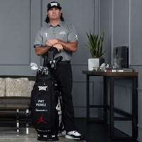 ジョーダンシリーズのゴルフシューズを履きこなすパット・ペレス(提供:パット・ペレス、PGAツアー) パット・ペレス