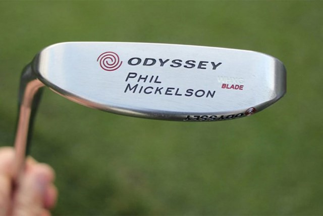 フィル・ミケルソン フィル・ミケルソンの名を冠したオデッセイのミルドブレードパター(提供:GolfWRX)