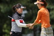 2010年 ワールドレディスチャンピオンシップサロンパスカップ 初日 井芹美保子 甲田良美