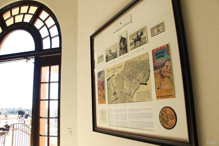 1932年のロス五輪の際には隣接の競技場でポロの大会が開催された。2028年ロス五輪ではゴルフが開催される 2021年 ジェネシス招待 3日目 1932年五輪
