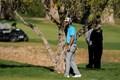 プレーオフ1ホール目でピンチに屈しなかったマックス・ホマ(Gina Ferazzi/Los Angeles Times via Getty Images)