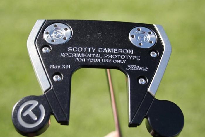 アダム・スコットのパター(提供:GolfWRX) 2021年 ジェネシス招待 事前 アダム・スコット