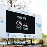 WGCはフロリダに会場を変更して開催 2021年 WGCワークデイ選手権 事前 看板