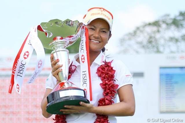 2010年 HSBC女子チャンピオンズ 最終日 宮里藍 今から11年前。この優勝後に凱旋帰国した際にはたくさんの人が空港に押し掛けました