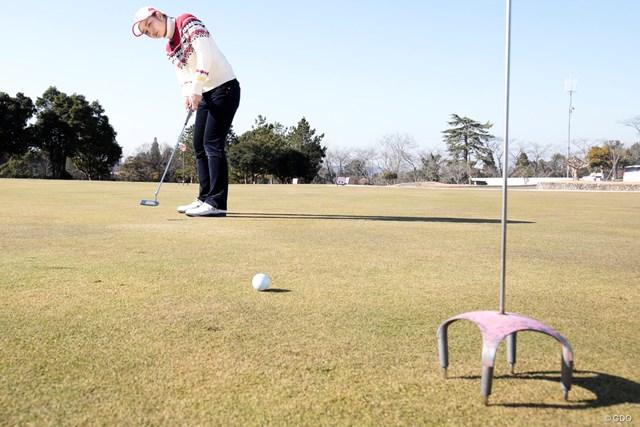 3パットを減らす3つの距離感ドリル 斉藤愛璃 朝の練習グリーンでもできる効果的なドリル