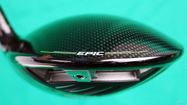 エピック MAX ドライバーを西川みさとが試打「苦手な形状だけど…」 後方にはスライダー式の「ペリメーター・ウエイティング」が搭載