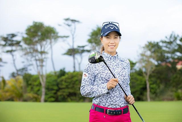 2021年 ダイキンオーキッドレディスゴルフトーナメント 事前 上田桃子 上田桃子は「エピック SPEED ドライバー」のプロトタイプを選んだ(提供:キャロウェイゴルフ)