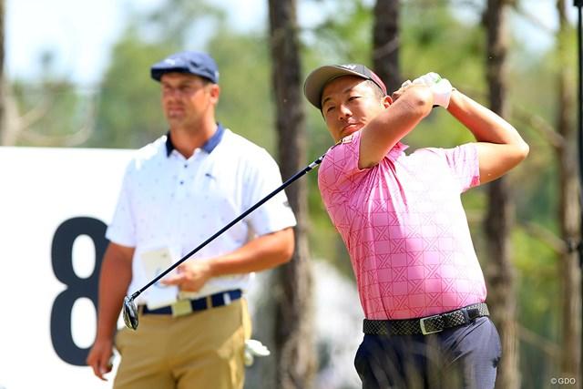 稲森佑貴 ブライソン・デシャンボー 稲森佑貴はデシャンボーの「好調時」といえるゴルフを見ることができた