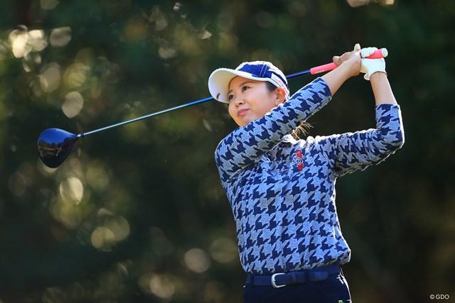 2021年 金澤志奈 金澤志奈はショットの安定感が武器(写真は2020年LPGAツアーチャンピオンシップ)