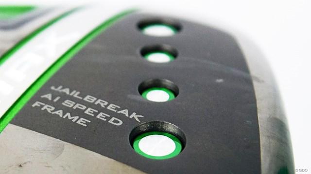 エピック MAX ドライバーを筒康博が試打「シャフト含め高い完成度」 ソール前方には「スピードフレーム」の4つのドットが目を引く
