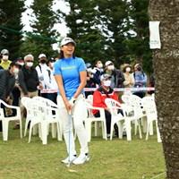 18番アプローチミスしちゃった 2021年 ダイキンオーキッドレディスゴルフトーナメント 初日 渋野日向子