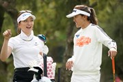 2021年 ダイキンオーキッドレディスゴルフトーナメント 初日 脇元華とエイミー・コガ
