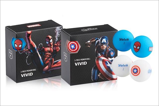 ホワイトデー(ボール) Volvik VIVID MARVEL PACK/ボルビック ¥2,750(税込)