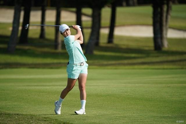 2021年 ダイキンオーキッドレディスゴルフトーナメント 2日目 森田遥 「66」をマークした森田遥が首位タイに浮上