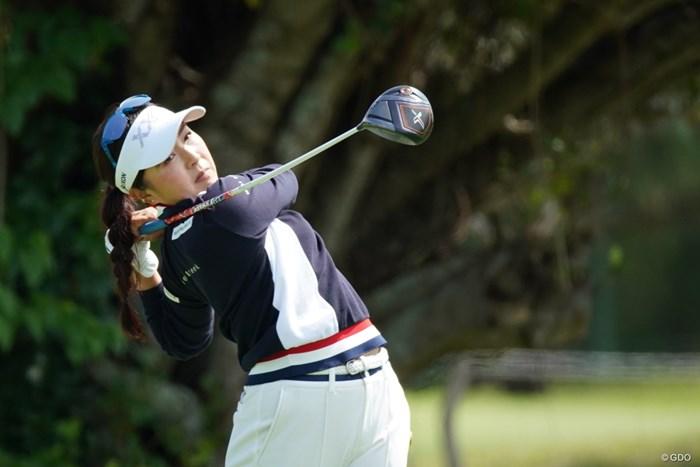 頑張って予選通過にゃん 2021年 ダイキンオーキッドレディスゴルフトーナメント 2日目 青木瀬令奈