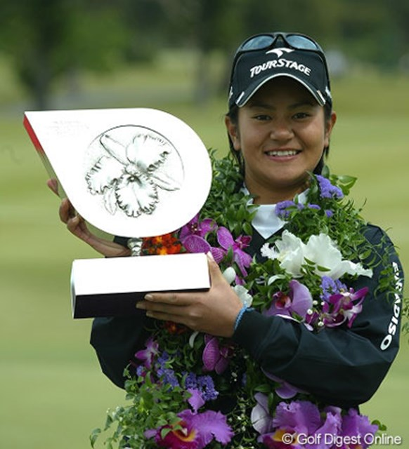 2004年 ダイキンオーキッドレディスゴルフトーナメント 最終日 宮里藍 宮里藍の快挙から17年を経て、同じ3月7日に第34回大会も最終日を迎える