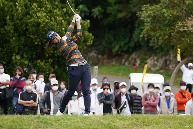 2021年 ダイキンオーキッドレディスゴルフトーナメント 3日目 渋野日向子 渋野日向子は1バーディ、1ボギー「72」。ムービングデーに伸ばせなかった