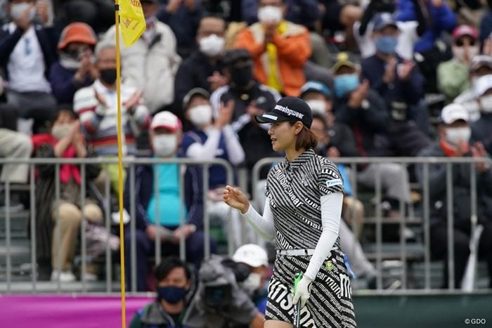 沖縄名物の指笛も復活! 2021年 ダイキンオーキッドレディスゴルフトーナメント 3日目 新垣比菜