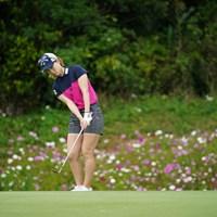 アプローチは転がしが基本 2021年 ダイキンオーキッドレディスゴルフトーナメント 3日目 上田桃子