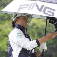 酷い雨 2021年 ダイキンオーキッドレディスゴルフトーナメント 最終日 渋野日向子