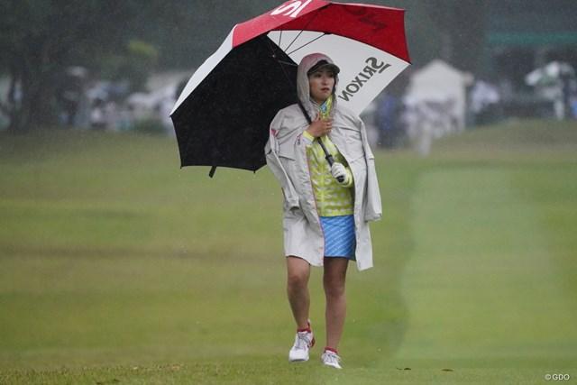 2021年 ダイキンオーキッドレディスゴルフトーナメント 最終日 臼井麗香 ギャラリーではありません
