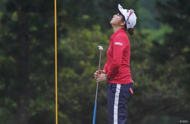 2021年 ダイキンオーキッドレディスゴルフトーナメント 最終日 田辺ひかり 悔し~