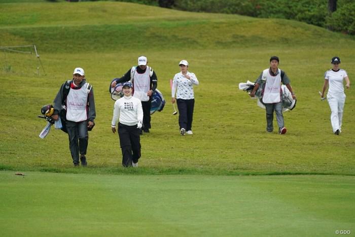 最終組の3人娘 2021年 ダイキンオーキッドレディスゴルフトーナメント 最終日 小祝さくら 森田遥 西郷真央