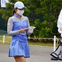 感染予防はしっかり 2021年 ダイキンオーキッドレディスゴルフトーナメント 3日目 渡邉彩香