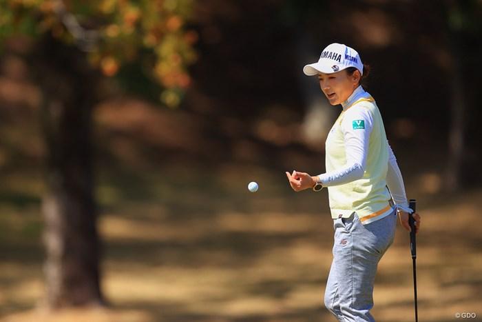 今は迷いなくプレーができる 2021年 明治安田生命レディス ヨコハマタイヤゴルフトーナメント 事前 有村智恵