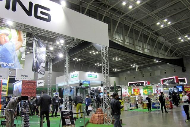 2021年 ジャパンゴルフフェア  2年ぶりとなる「ジャパンゴルフフェア」が華やかに開幕した