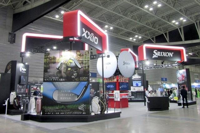 2021年 ジャパンゴルフフェア ダンロップブース 今年も巨大なブースが設置されたダンロップブース