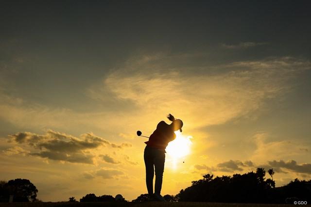 2021年 明治安田生命レディス ヨコハマタイヤゴルフトーナメント 2日目 稲見萌寧 プレッシャーがあればあるほど萌える。いや燃える!