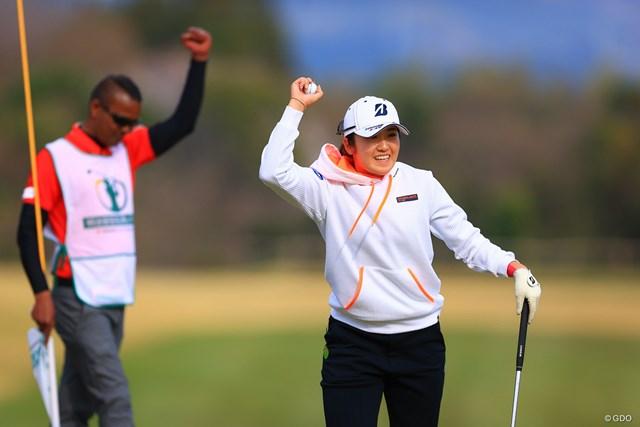 2021年 明治安田生命レディス ヨコハマタイヤゴルフトーナメント 最終日 稲見萌寧 稲見萌寧が苦戦しながらも勝利をものにした