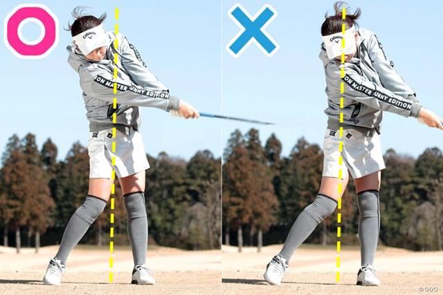 打つ瞬間、意識はどこが正解? 上野陽向 ボールに合わせにいくと上体が左へ突っ込んでしまう