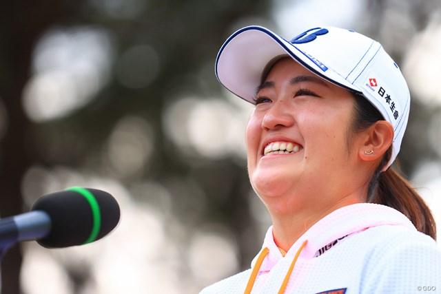 2021年 明治安田生命レディス ヨコハマタイヤゴルフトーナメント 最終日 稲見萌寧 プレーオフの末に涙のシーズン2勝目を飾った稲見萌寧がランキングを上げた