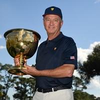 2022年のプレジデンツカップで米国選抜を率いるデービス・ラブIII(提供:PGAツアー) 2021年 PGAツアーオリジナル デービス・ラブIII