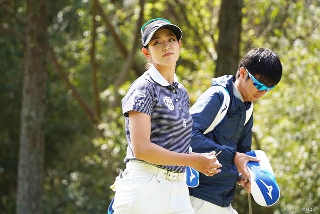 2021年 Tポイント×ENEOSゴルフトーナメント 事前 原英莉花 米ツアー挑戦をにらみ、アイアン変更に着手した原英莉花