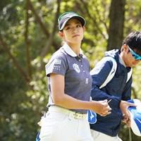 米ツアー挑戦をにらみ、アイアン変更に着手した原英莉花 2021年 Tポイント×ENEOSゴルフトーナメント 事前 原英莉花